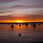 sunset-san-diego-boats